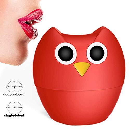 Lip Plumper lippen booster a forma di Gufo Dispositivo Volumizzante per Labbra in Silicone. Labbra più carnose in modo naturale, senza prodotti chimici - Effetto Single Lobed o Double Lobed.