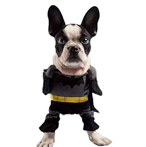 Inception Pro Infinite Kostüm - Verkleidung - Batman - Man Bat - Hund (L)
