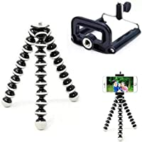 King Shine Flexible Mini Tripod (10 Inch Height) for Camera, DSLR and Smartphones vlogging Tripod and Best Gorilla…