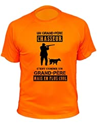 """Tee shirt chasse """"Grand père chasseur"""""""