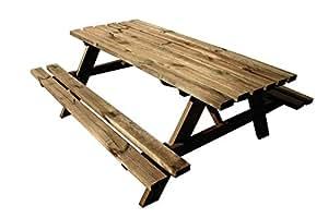 Avanti TRENDSTORE - Verena - Picknicktisch, ca. 178x72x75 cm