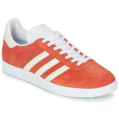 adidas Gazelle W Schuhe, Orange, 38 2/3 - Braun Schuhe Adidas Damen