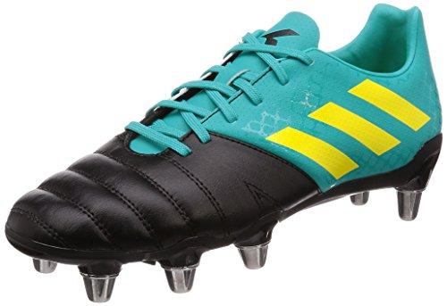 adidas Kakari (SG), Scarpe da Rugby Uomo, Blu Hiraqu/Shoyel/Cblack, 42 2/3 EU