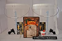 Complete cantina rose Wine 5jour Starter Kit * Le Kit ne nécessite que de l'eau et est prêt à boire en 5jours. cantina rose pour 30bouteilles de vin Starter Kit, complète avec un facile à suivre step-by-step-guide. Notre porte-cartouche Kit est li...