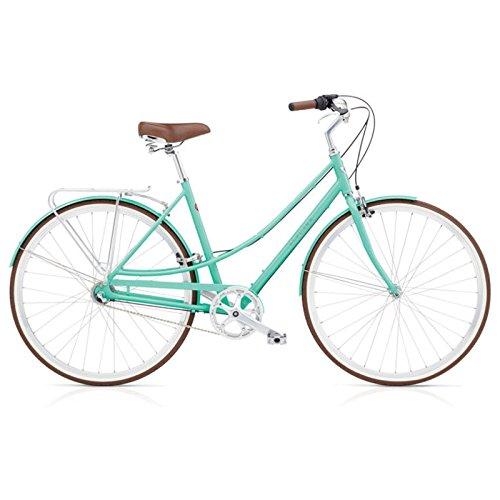 Electra Loft 3i Damen Fahrrad Regular Mint Mojito Stadt Rad Aluminium Naben Schaltung, 537497 -