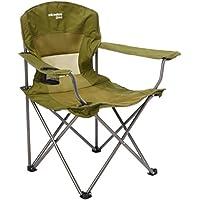 Yellowstone FT001 Silla para acampada, color verde