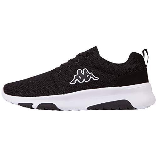 Kappa Sash, Sneakers Basses Homme, Noir (Black 242706-1110), 43 EU