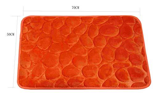 Hogar textil Homeya Alfombra Baño Antideslizante