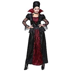 WIDMANN Traje Vampiress Dress Gargantilla Tamaño L adultos traje completo 563