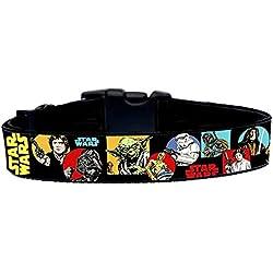 La Guerra De Las Galaxias Star Wars B Collar Perro Hecho a Mano Talla M sin Correa Dog Collar HandMade