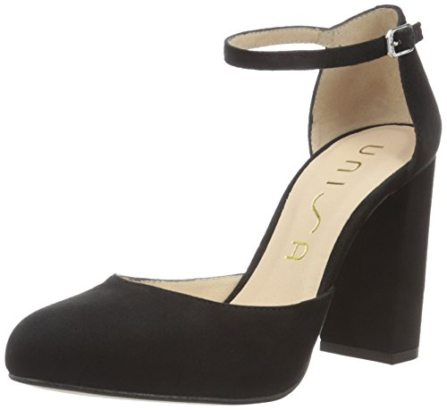 Unisa Sarai_KS, Scarpe con Tacco Donna, Nero (Black), 38 EU