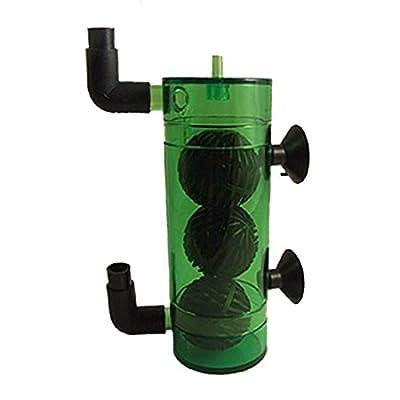 Dioxyde de carbone multi-direction Aquarium Diffuseur réacteur vert