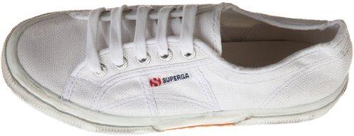 Superga 2750 COTUSTONEWASH, Sneaker Unisex - Adulto Bianco (White)