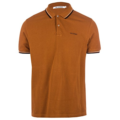 Ben Sherman Herren Poloshirt Gr. Medium, gold