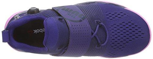 Reebok Zpump Fusion Tr, Scarpe da Corsa Donna Multicolore (Mehrfarbig (Night Beacon/Collegiate Navy/Icono Pink))