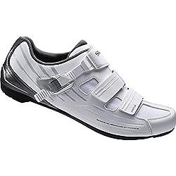 Shimano SHRP3NG420SW00 Zapatillas de ciclismo de carretera, Hombre, Blanco (White), 42 EU (7.5 UK)