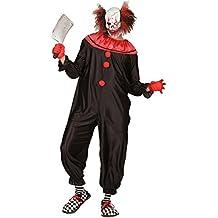 Widmann 01621 - Adult Costume Killer Clown, sobretodo, talla S