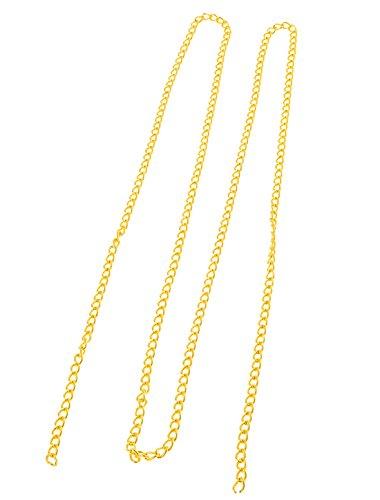 Doré métallique 130 cm décoratif pour sac à main, à chaîne