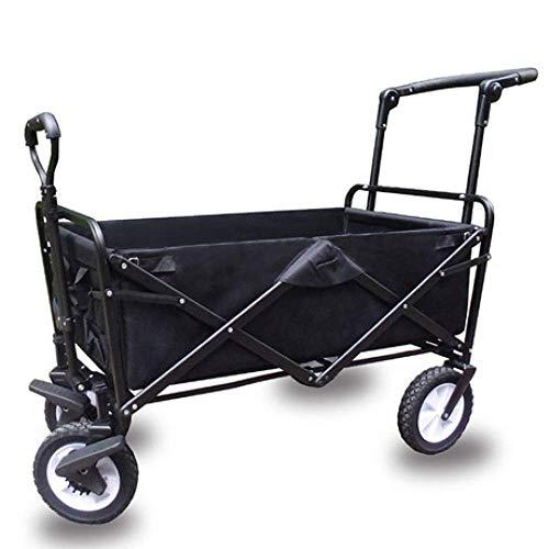 Pull Cart, Faltschaltkarton Kids Auto tragbaren Wagen im Freien Camping Vierrädriger ziehen Outdoor-Angelwagen,B