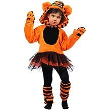 Limit Sport - Disfraz de tigre con tutu, para niños, talla S (MB679)