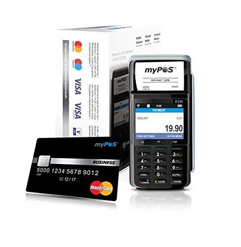myPOS Combo Card Payment Machine (Black) Mobile Kreditkarte