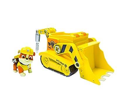 Diggin Bulldozer Vehículo de la pata de la Patrulla Escombros por Spin Master
