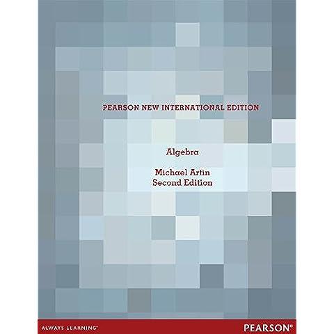 Algebra: Pearson New International Edition