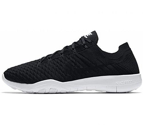 Nike Crosstraining-schuhe Damen (Nike WMNS NIKE FREE TR Flyknit Damen Sneaker CROSS TRAINING, 2, schwarz (Black/black-white))