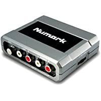 Numark Stereo iO kompaktes All-in-One Stereo Audio Interface für Mac/Pc
