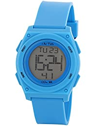 Cactus CAC-66-M03 - Reloj de pulsera niños, Plástico, color Turquesa
