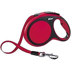 Flexi 4000498028445 Correa New Comfort, L, Rojo