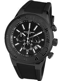 Jacques Lemans Herren-Armbanduhr XL Miami Chronograph Quarz Silikon 1-1820H