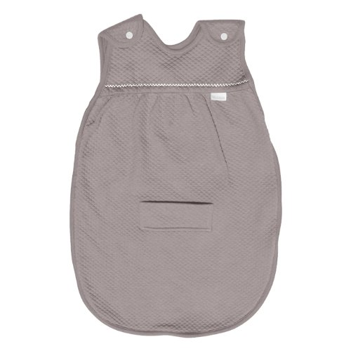 Red Castle - Gigoteuse Ouatiné Taupe Blanc 75 cm TOG2