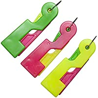 Nopea Lot de 3 enfile-Aiguilles automatiques pour rongeurs Filetage Simple