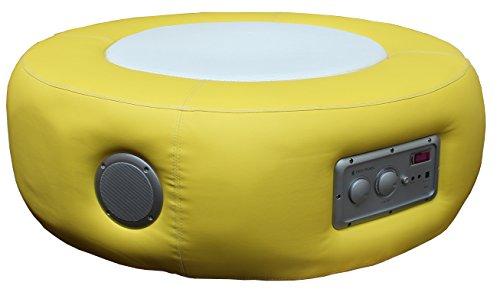 Multimediahocker Sitz Loop Pro Soundhocker Musikhocker 4.1 System gelb