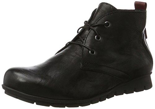 Think Damen MENSCHA_181074 Desert Boots, Schwarz (Sz/Kombi 09), 40 EU
