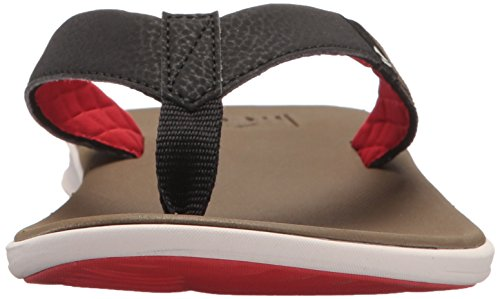 Nike Red Micro Horizontal gestreiftes Tanktop Gr??e XLarge