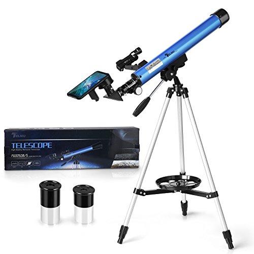 TELMU - Telescopio Astronomico F60050M/5 Longitud Focal 600 MM Ultra-Alto Claro De...