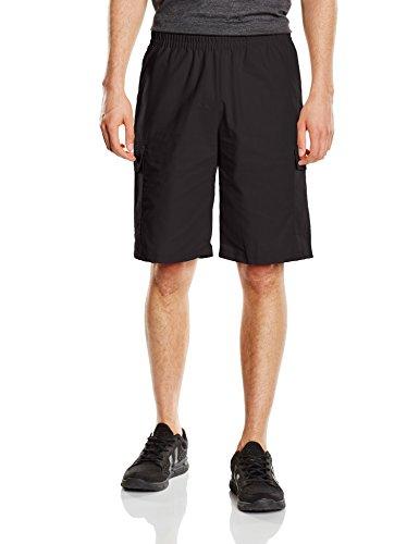 Trigema Herren Sport Shorts 615095, Gr. 64 (Herstellergröße: XXXL), Schwarz (schwarz 008) (Shorts Trocknen Golf)