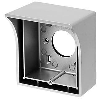 AE SAC5621B-B2 Surface-Mounted Metal Door Stations, Pack of 1, Silver/Grey