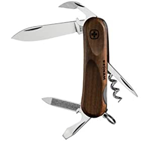 wenger evowood 10 couteau suisse marron sports et loisirs. Black Bedroom Furniture Sets. Home Design Ideas