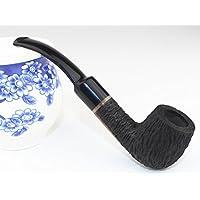 Mano-nero palissandro tabacco piegatubi filtro secchio legno tubo di fumo , 2