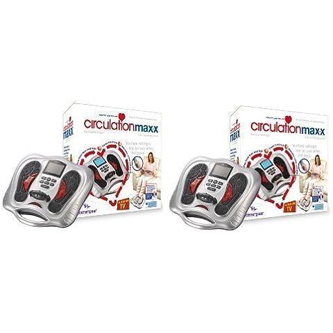 Pack Doble - Maxx De circulación Sangre de circulación Masajeador - el nuevo 2012 Electroflex Generation 3 Dispositivo Médico - ahora con Control Remoto