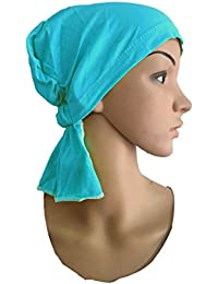 TURQUOISE BLUE CHEMO BEANIES CANCER CAPS WOMEN SUMMER CHEMO CAPS SLEEP TURBAN FOR WOMEN UNDERSCARF CAPS UNDER HIJABS WOMENS PREGNANCY CAPS EAR COVER CAP COTTON CAPS SLEEP CAPS SLEEPING HEADWEAR CHEMO THERAPY HEADWRAPS