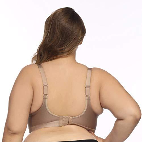 TMOTYE Damen BH ❁, 2019 Neue Werbeartikel Mode Sexy Lady Large Size Nahtlose Nahtlose Unterwäsche Yoga Stoßfeste Sport BH Unterwäsche, Gesund und Bequem Cups -