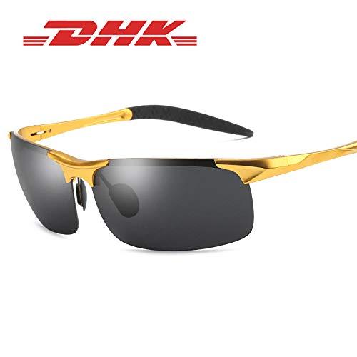 SAMNZN Polarisierte sonnenbrille_dhk polarisierte sonnenbrille herrensonnenbrille outdoor sports ride driving aluminium magnesium großhandel 8177 @ b