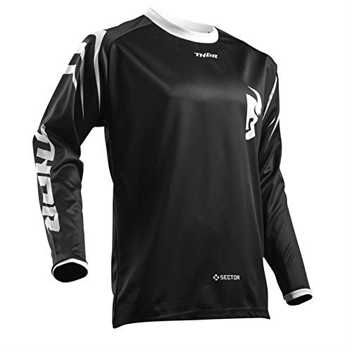 Thor SECTOR YOUTH Motocross Kinder Jersey 2018 - schwarz -