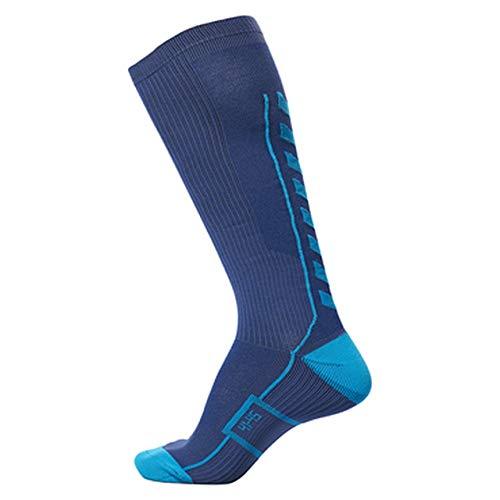 hummel Herren TECH Indoor Sock HIGH Saragossa Sea, 12 (41-45)