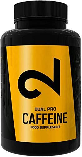 DUAL Pro CAFFEINE | Cafeína 100% Pura Certificada por Laboratorio | 120 Pastillas De...