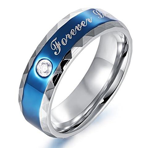 Fate Love Jewellery Aucun poinçon Acier inoxydable (homme, 1 pièce) Zirkonia FASHIONRING